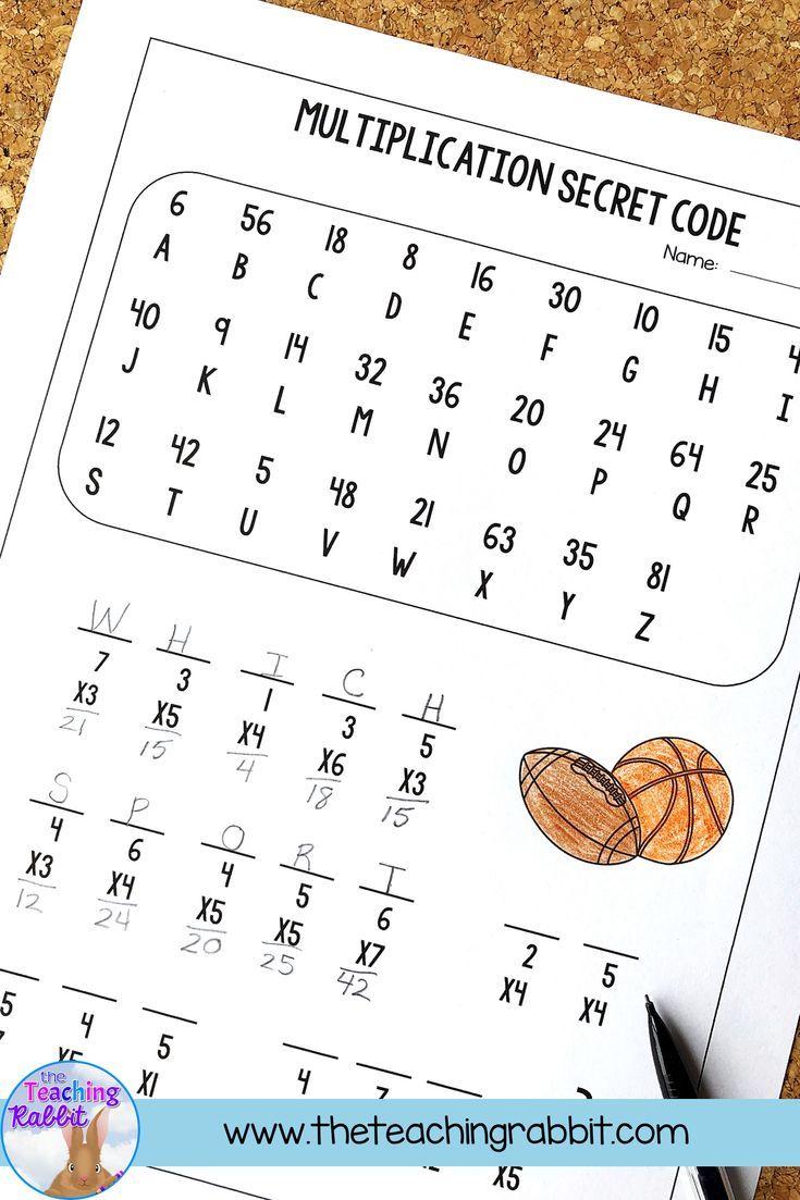 Multiplication Worksheets Activities Multiplication Facts Worksheets Multiplication Worksheets Teaching Multiplication