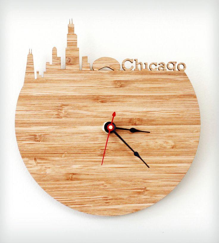 1000 ideas about modern wall clocks on pinterest wooden clock clock ideas and designer clocks - Wanduhr modern weiay ...