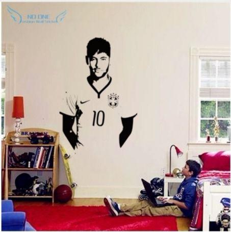 Neymar da Silva Santos Júnior Poster Vinyl Wall sticker