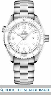 232.30.38.20.04.001 Omega Seamaster Planet Ocean Ladies Automatic White Dial Watch