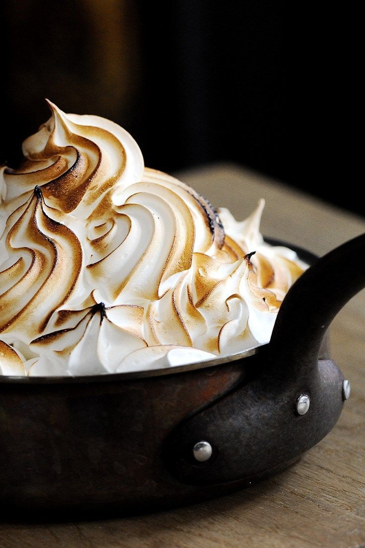This Baked Alaska recipe is elevated thanks to the brilliance of the chef behind the recipe, Tom Aikens, the presentation and the use of panettone for the base