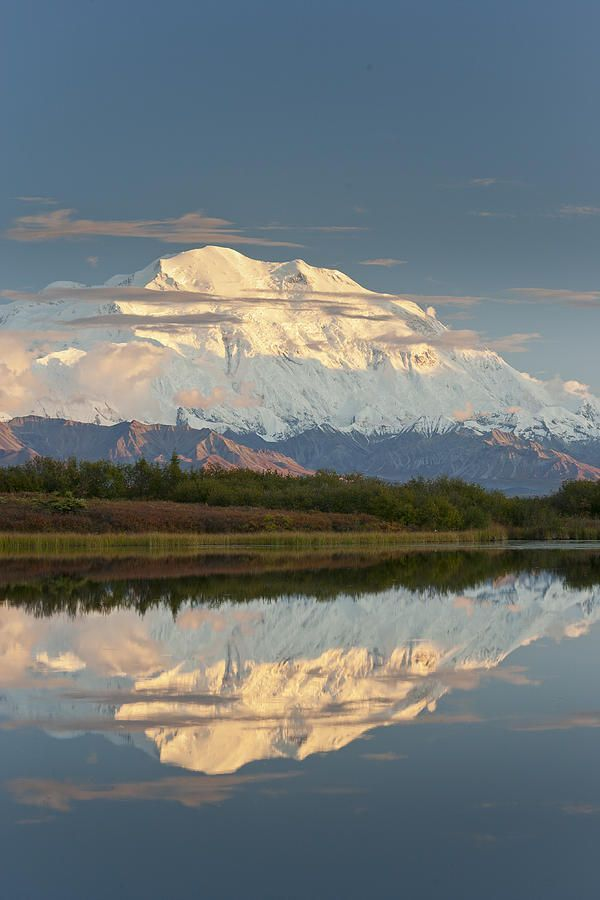 'Reflections of Denali' photo by Tim Grams; Mount McKinley, Denali National Park, Alaska http://www.wfpcc.com/waterfrontpropertieslistings.php