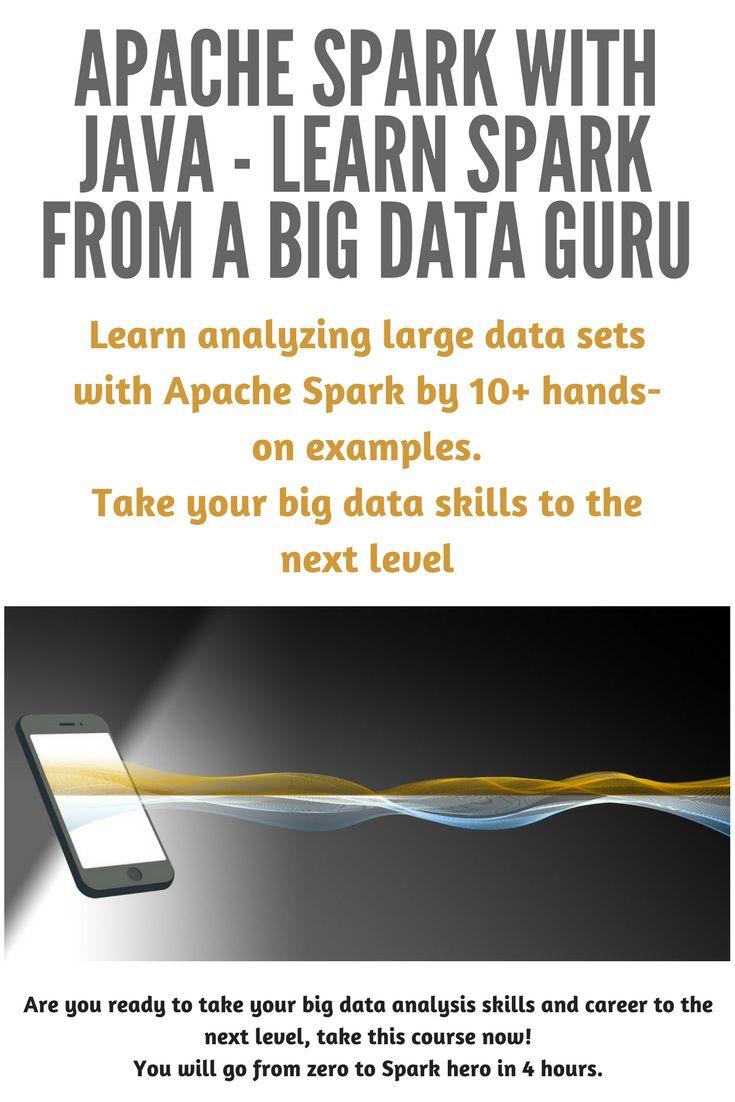 Apache Spark with Java - Learn Spark from a Big Data Guru #ApacheSpark