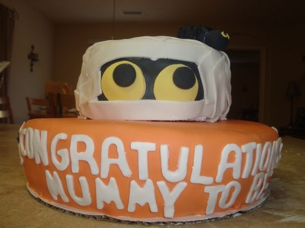 Baby Shower Halloween, Shower Baby, Baby Shower Cakes, Shower Time, Baby  Coming, The Mummy, Party Things, Map, Shower Ideas