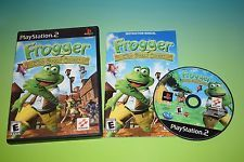 Frogger: The Great Quest  Playstation 2 Game PS2 COMPLETE retro