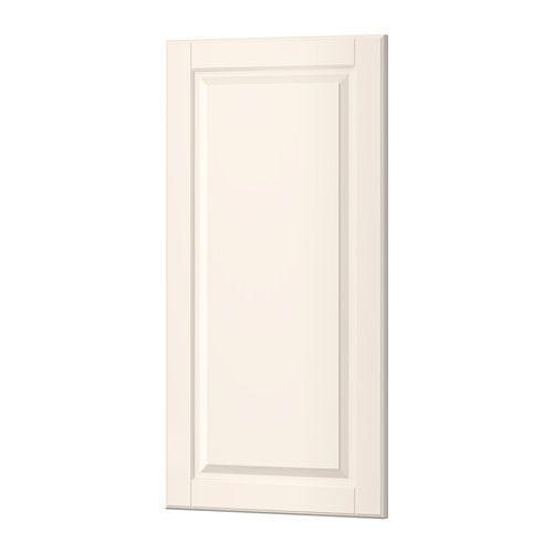 IKEA - BODBYN, Dør, råhvid, 40x80 cm, , BODBYN låge har en ramme og et panel med affasede kanter, der gi'r den et karakteristisk og traditionelt udseende. Den bløde, råhvide farve gi'r dit køkken et lyst og varmt udtryk.Lakerede låger er glatte og ensartede, modstandsdygtige over for fugt og pletter og meget nemme at gøre rene.25 års garanti. Læs betingelserne i garantifolderen.Du kan vælge at montere lågen i højre eller venstre side.