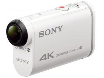 Sony Action Cam FDR-X1000V - Gravação 4K Wi-Fi GPS + Kit de Acessórios
