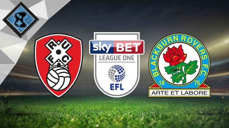 Blackburn Rovers vs Rotherham United 1st January https://youtu.be/WsqWpOLW2pE