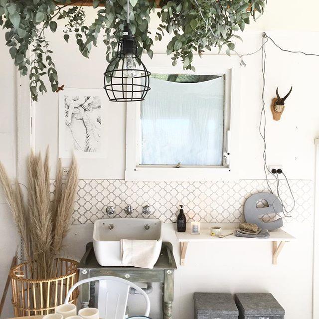 Marley & Lockyer studio. Handmade tiles by Ness Lockyer