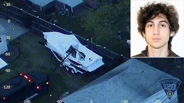 F*** America, Boston Marathon Bomb Suspect Wrote in Boat: Officials