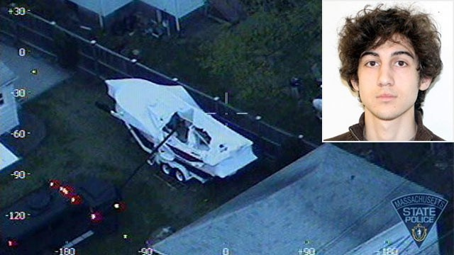 F*** America, Boston Marathon Bomb Suspect Wrote in Boat: Officials
