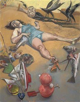 A Sereiazinha (The Little Mermaid) By Paula Rego ,2003