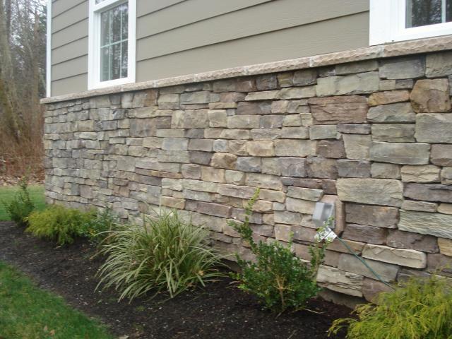 """""""Eldorado"""" stone - Manzanita cliffstone, drystack technique"""