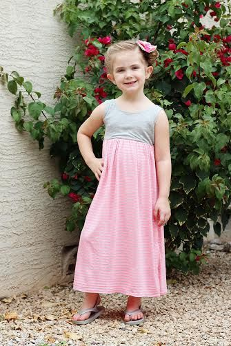 Maxi Dress For Girls Pdf Sewing Patterns Maxi Dress