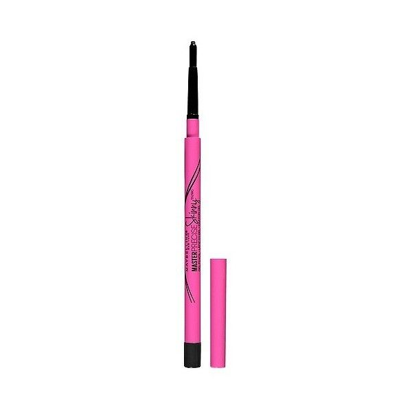 Maybelline Eyestudio Master Precise Skinny Gel Pencil  Refined... (£5.61) ❤ liked on Polyvore featuring beauty products, makeup, eye makeup, eyeliner, oil free eyeliner, maybelline eye makeup, gel eye makeup remover, gel eye liner and oil free eye makeup remover