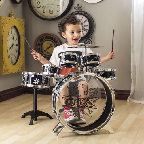 EBAY:  Was $64.95, NOW $29.99 + Ships FREE!  BCP Kids Toy Musical Instrument 11 Piece Kids Drum Set W/ Stool, Drumsticks  Save $35: http://ebay.to/2hBjL0e  #ad