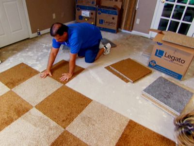 25 best ideas about carpet squares on pinterest carpet for Cheap carpet installation