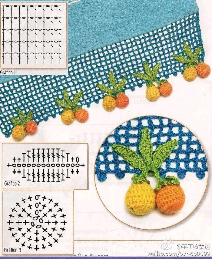 Luty Artes Crochet: frutas de crochê                              …