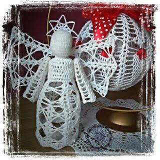Robi Gabcia Na Szydełku: Boże Narodzenie #RobiGabciaNaSzydelku #crochet #crochetchristmas #angel #crochetangel  #crochetchristmasdecoration #crochetchristmas #crochet #rodzinnie #szydełko #szydełkoweświęta