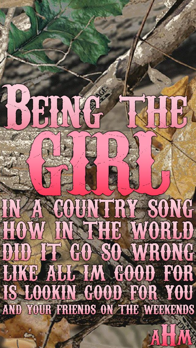 Girl In A Country Song- Maddie & Tae This song is so true. But i still love male country singers