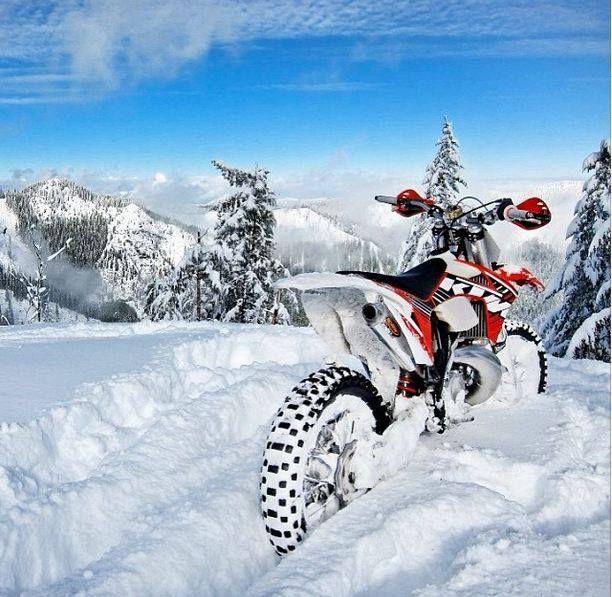 snow, ktm   Life   Ktm dirt bikes, Motocross bikes, Motocross