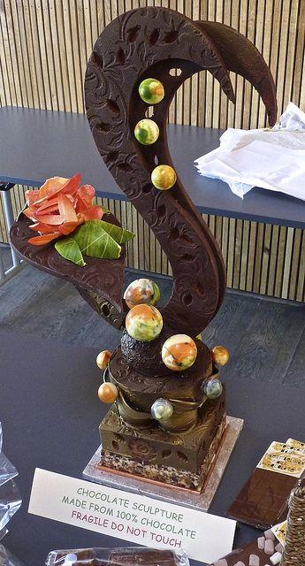 Chocolate Sculptures   Chocolate sculpture, Autumn Food Festival, Brockholes Nature Reserve ...