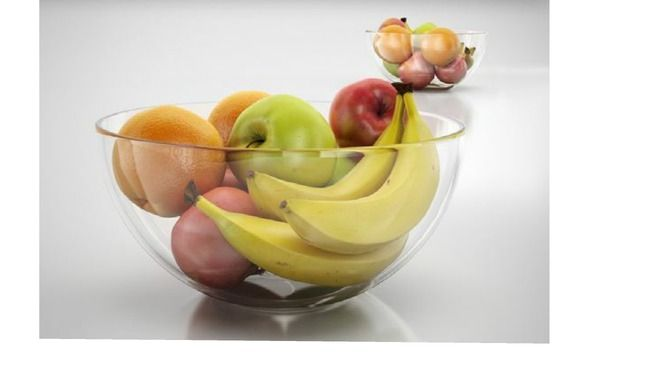 031. Bowl full of fruits - 3D Warehouse