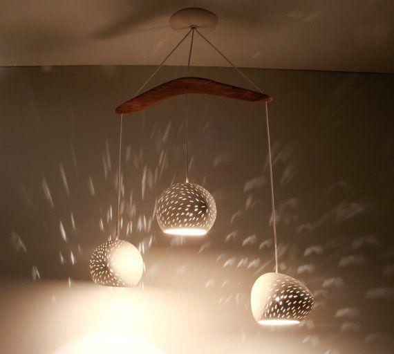 Ceiling lighting: THREE PENDANT BOOMERANG - chandelier - On Sale 10% off