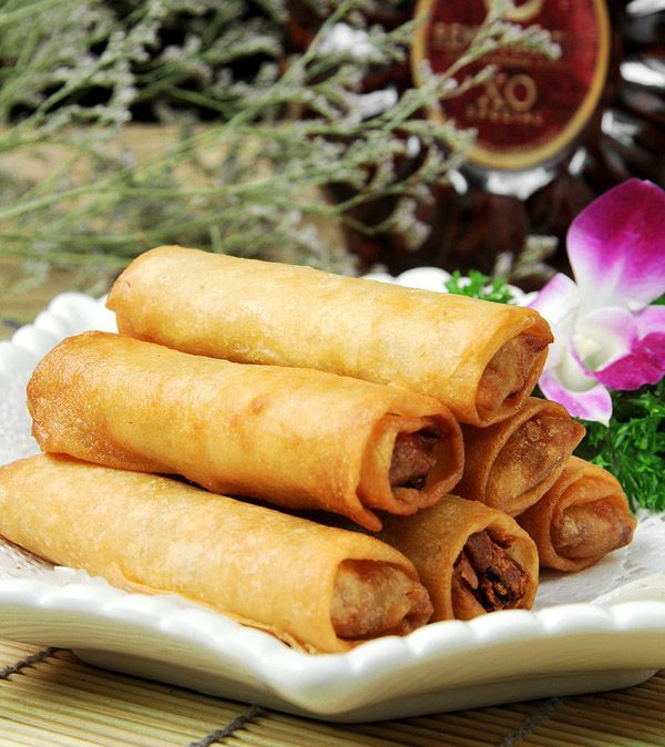 dim sum -#Chinese Spring Roll