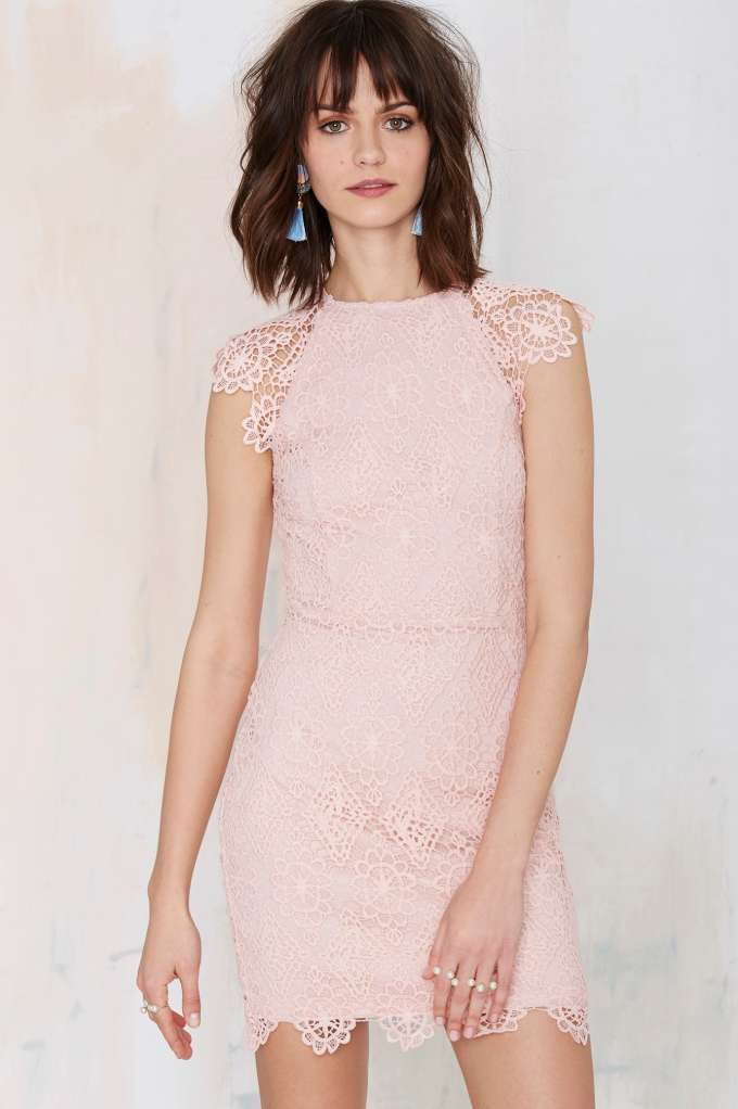 Nasty Gal Levina Lace Dress