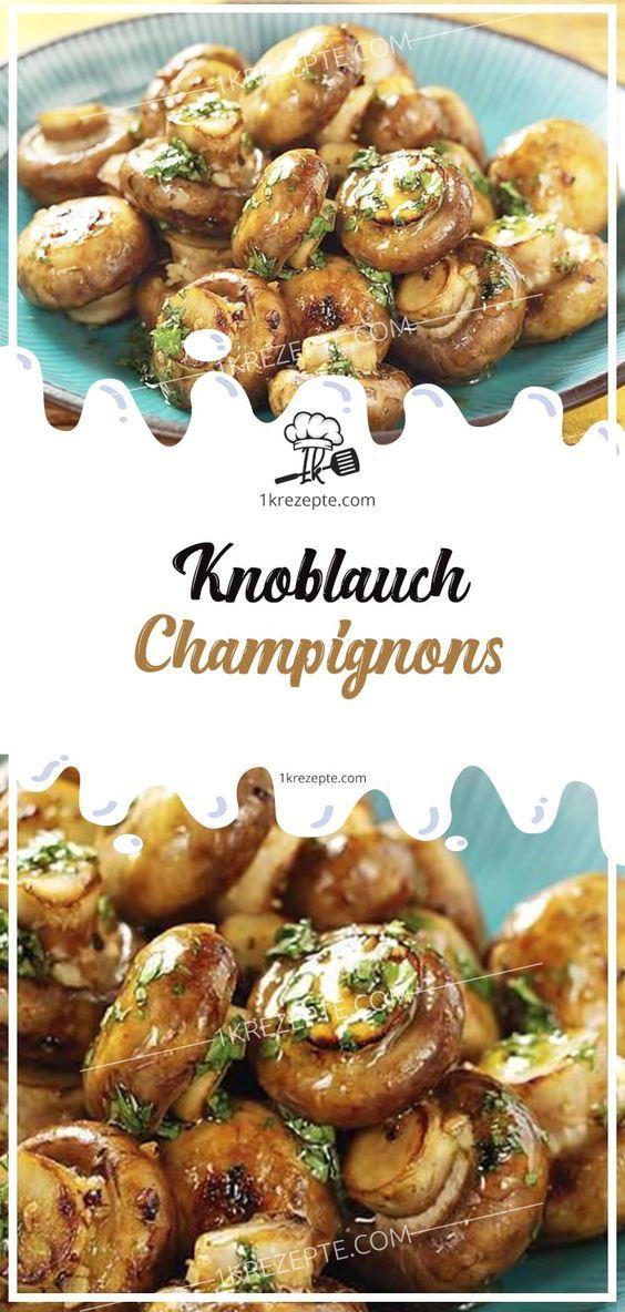 Knoblauch Pilze   – lecker