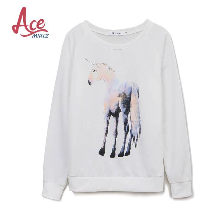 ACEMIRIZ 2017 New Women Print Hoodies Casual Autumn Tops Ladies Sweatshirt Animal Printed Long Sleeve O-neck Top SLSM-8337. Yesterday's price: US $21.99 (17.84 EUR). Today's price: US $12.97 (10.53 EUR). Discount: 41%.