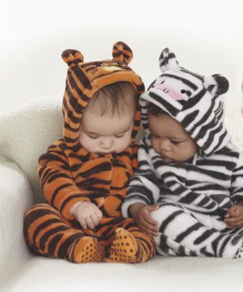 Rawwr! Your little one will love to dress up as a tiger before bedtime. Autumn/Winter 2013.