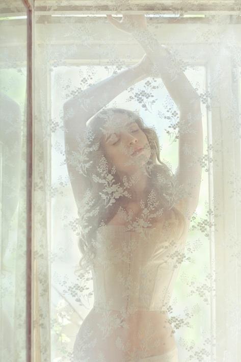 Yana Doroshenko in Morning Bliss by Vita Grodzitska for Harpers Bazaar.