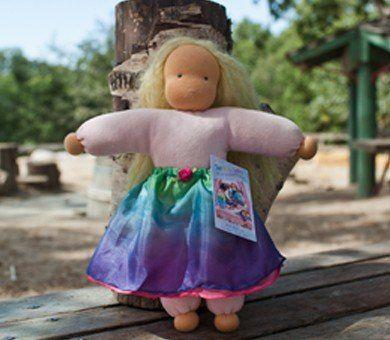 Sarah's silks - Rainbow Dolls Skirt