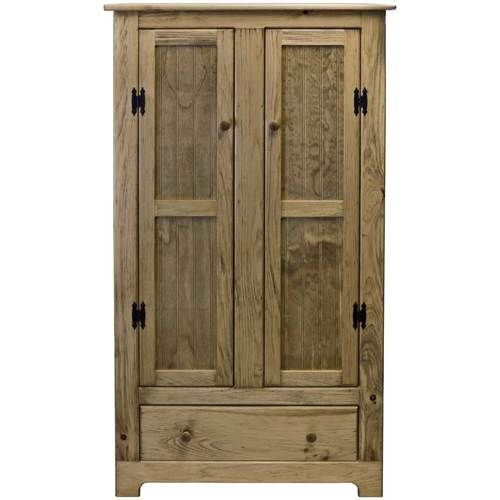 Solid Wood Storage Cabinet With Glass Windows Rustic Wood Furniture Beautiful Furniture Pieces Wood Storage Cabinets