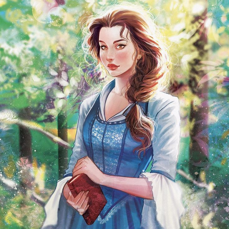 """A old one (now with details) """"I want adventure in the great wide somewhereI want it more than I can tell"""" #tbt #Belle #beautyandthebeast #disney #art #digitalpainting #draw"""