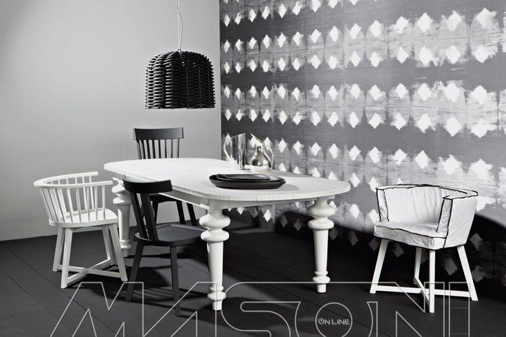 GRAY Tavoli fissi e allungabili collezione Gray di Gervasoni disponibili in diverse misure e finiture. http://www.masonionline.it/interno/tavoli-scrivanie-consolle/gray