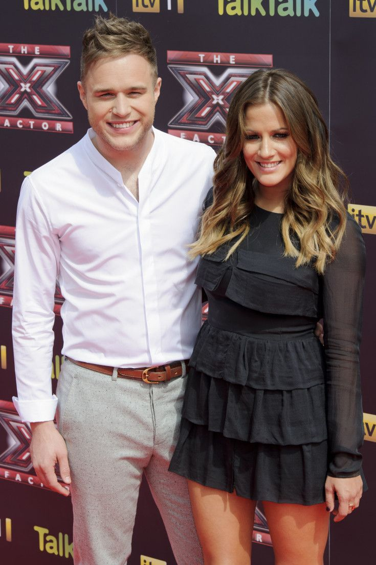 Olly murs black t shirt x factor - Caroline And Olly Confirmed For X Factor