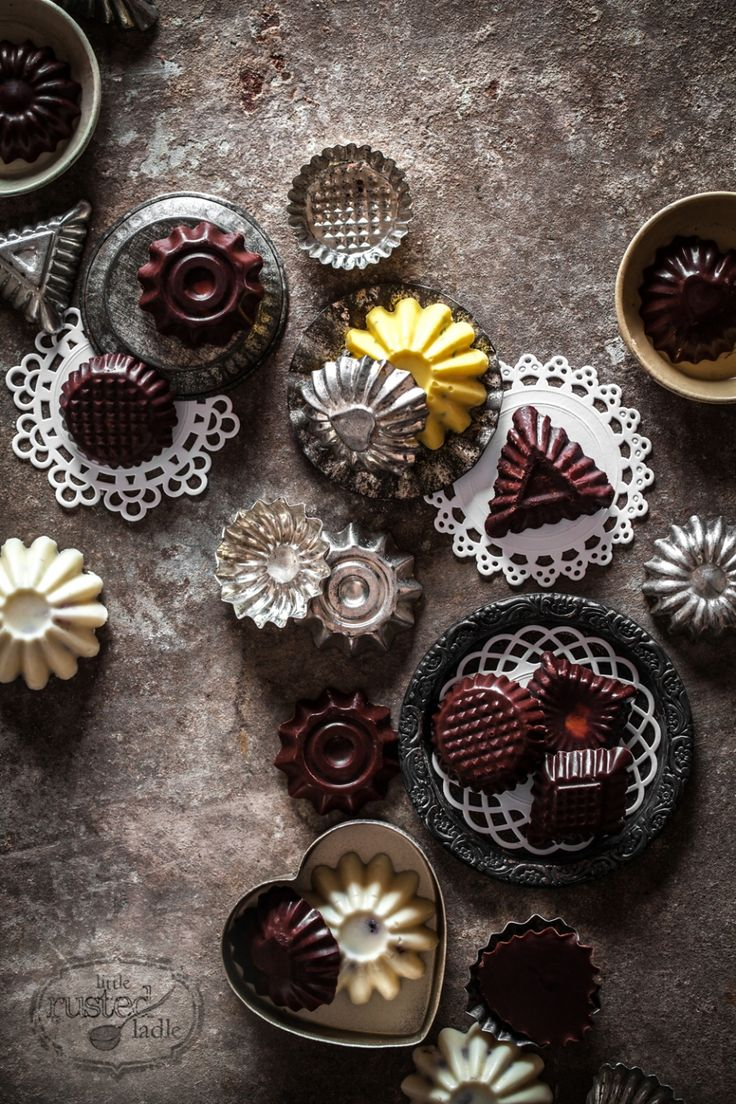 Good idea: Use mini tart pans to make chocolate shells which can be filled with mousse, ganache, etc.