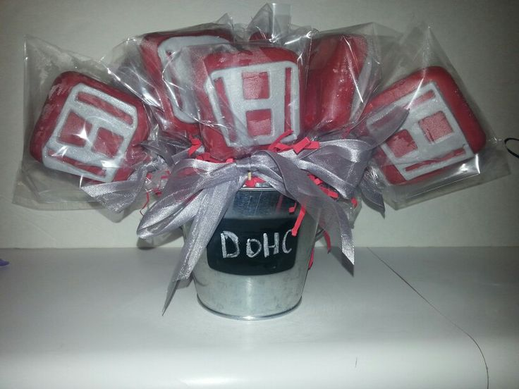 Honda cake pops by Cre8ive cake