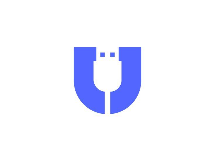 U for USB   U+USB logo by Vadim Carazan