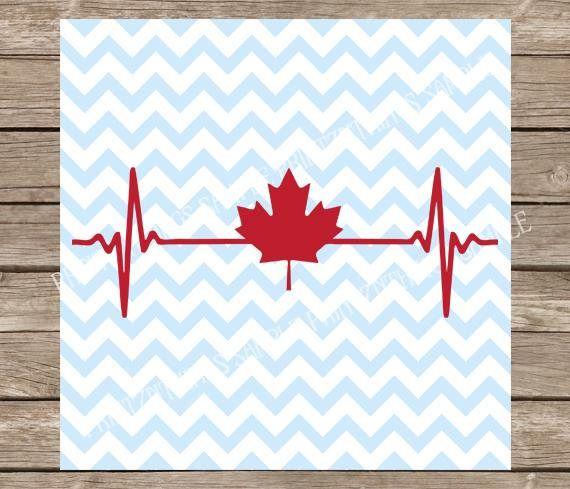Canada Svg Heartbeat Svg Maple Leaf Svg Svg Svg Files Svg Designs Svg Files For Cricut Svg Silhouette Canadian Svg Silhouette Cameo Canadian Flag Tattoo Maple Leaf Tattoos Canada Tattoo