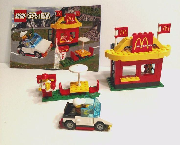 Lego vintage classic город mcdonalds ресторан набор 3438 100% в комплекте с ручным | Игрушки и хобби, Конструкторы, Конструкторы LEGO | eBay!