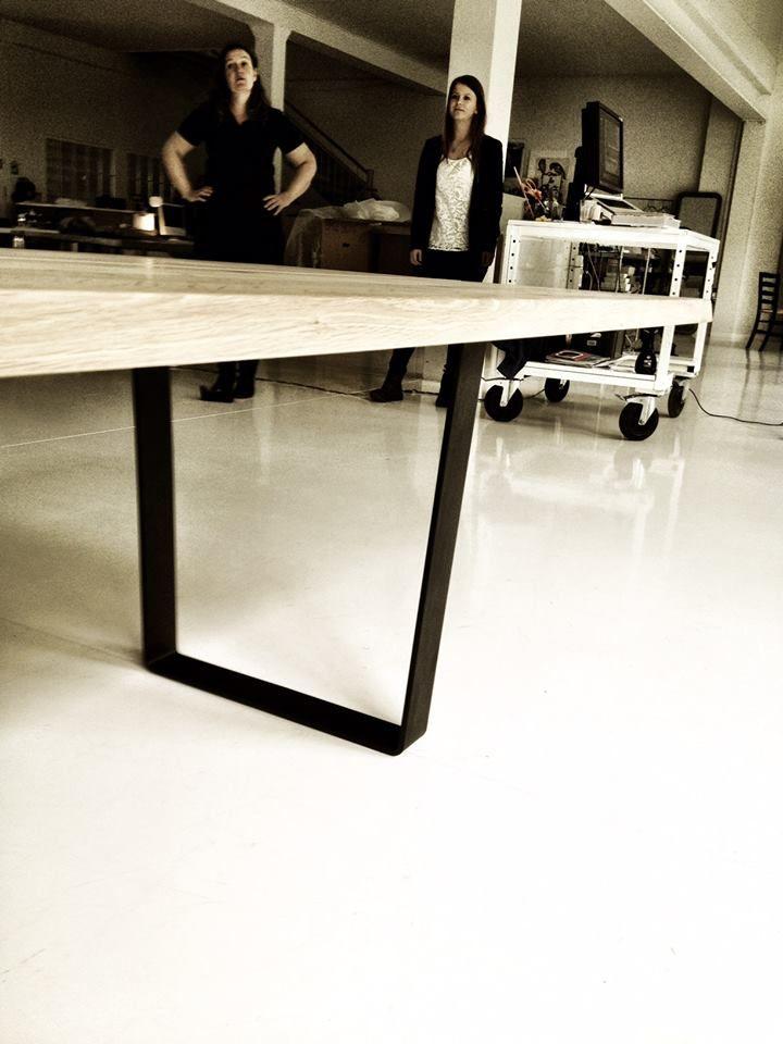 Photoshoot of the lowlight table at skovdal & skovdal in odense ...