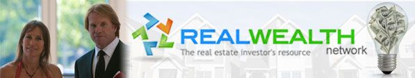 Thank you so much Real Wealth Network for your generous contribution to I Survived Real Estate 2012 through your gold sponsorship.  Thank you for helping to make our event possible and more special.
