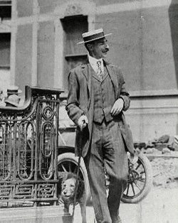 John Jacob Astor and his wife had an Airdale on board. Her name was Kitty. The couple were protective of Kitty because she had gone missing during an excursion to Egypt. John had offered a huge reward for her return. They most likely would have kept Kitty in their room during their travel on the Titanic.  It is rumored that John released all dogs on board from their kennels. This has not been proven, and John did not survive the sinking.