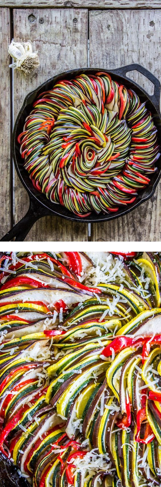 Roasted Garlic Ratatouille Recipe!