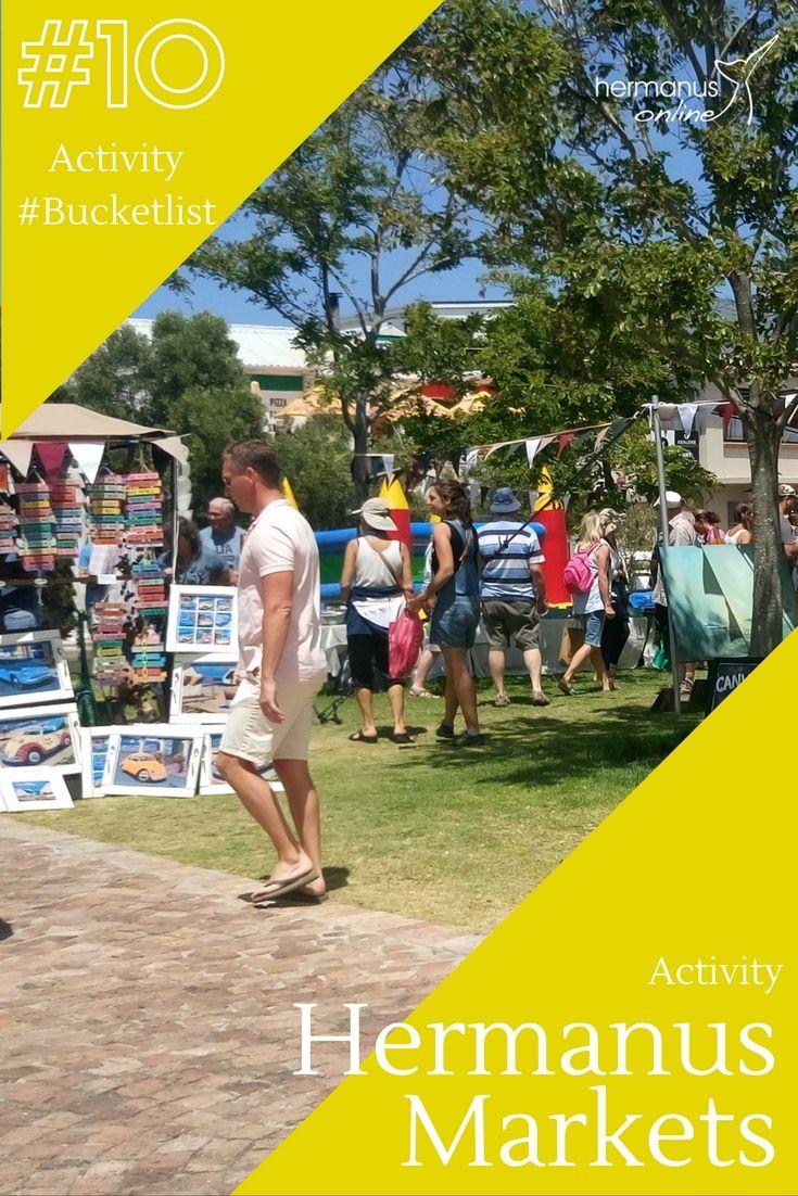 #10 - Hermanus Activity Bucketlist:  Visit 1 of or Markets