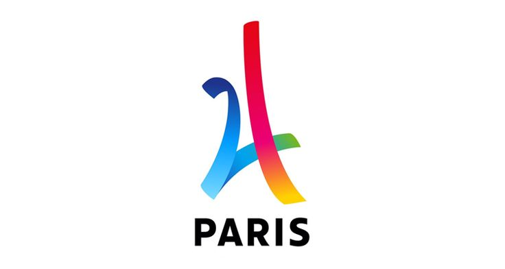 As part of their candidacy, cities that are in the running for hosting an Olympic event must create a logo that embodies the spirit of the Olympics and, ideally, the city itself. Luckily for Paris it can always play the Eiffel Tower card, the foundation of countless logos. While most of these are flops, the logo revealed somewhat melodramatically last night via projection on the Arc de Triomphe is surprisingly successful.
